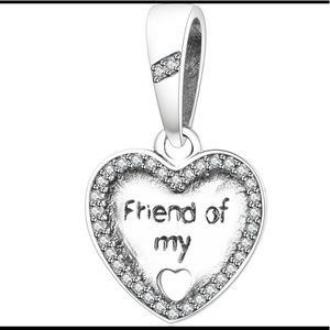 PANDORA Friend of my heart charm - never used